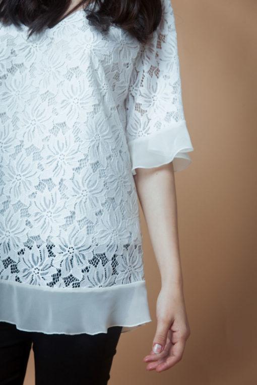 Blusa Escote en V. Cómoda , venta de ropa por mayor en Flores. Fabricantes de Vestidos , Blusas , Palazzos y Remeras.