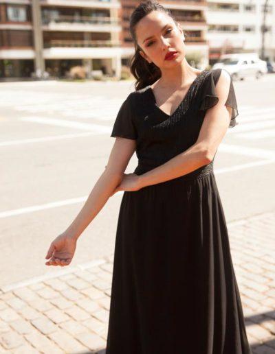 Vestido grecia .Cómoda , venta mayorista de ropa en Zona Comercial Avellaneda. Fabricantes de Vestidos , Blusas , Palazzos y Remeras